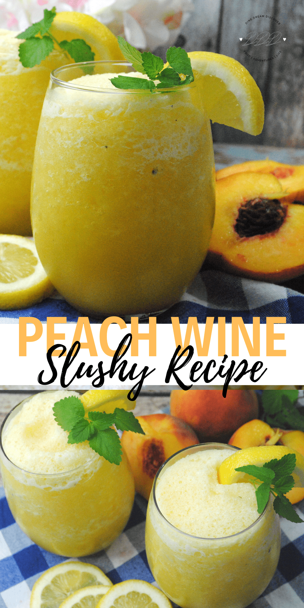Peach Wine Slushy Recipe