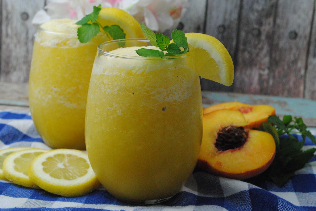 peach mango wine slush mix