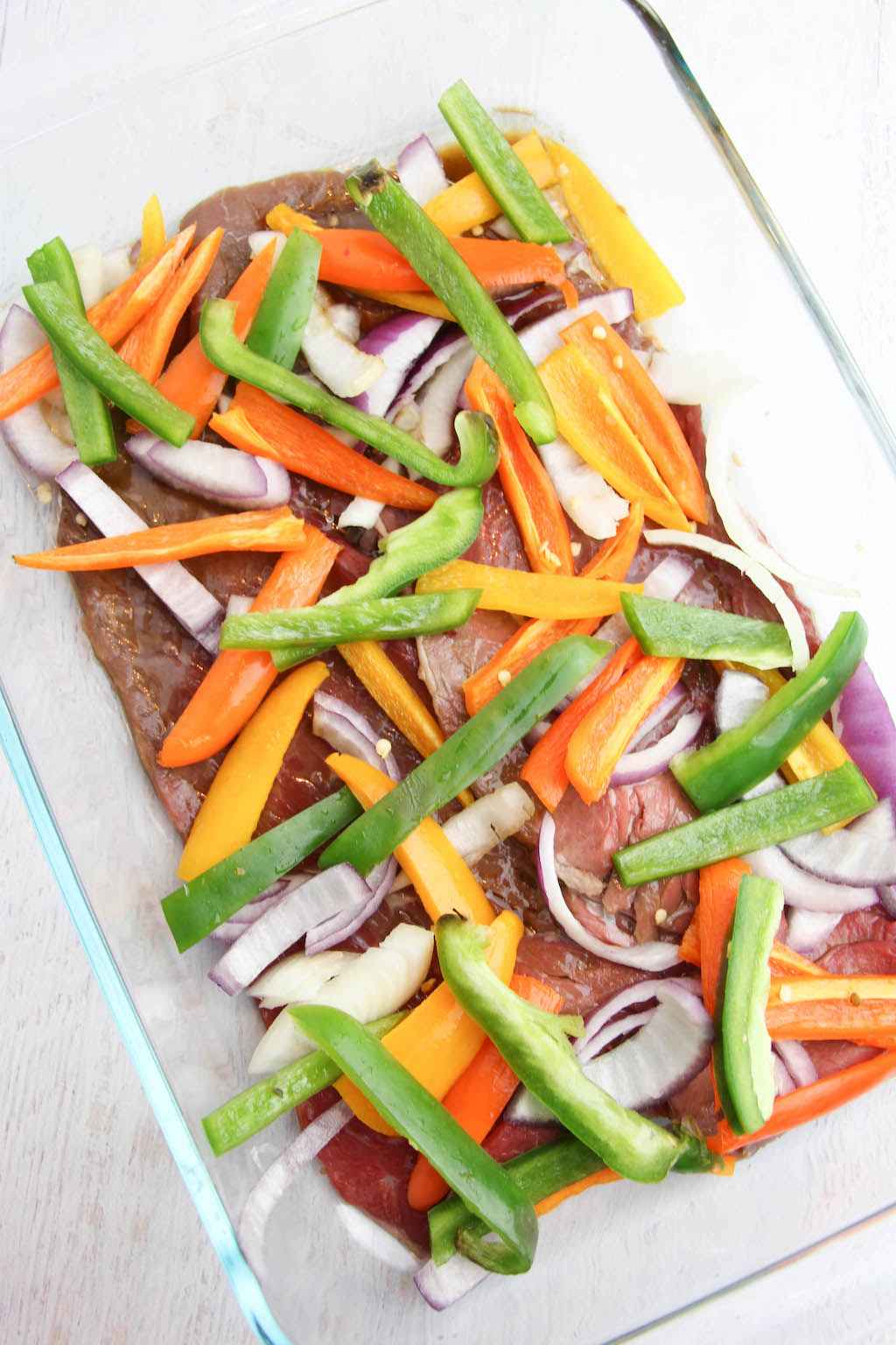 sheet pan steak fajitas eating well