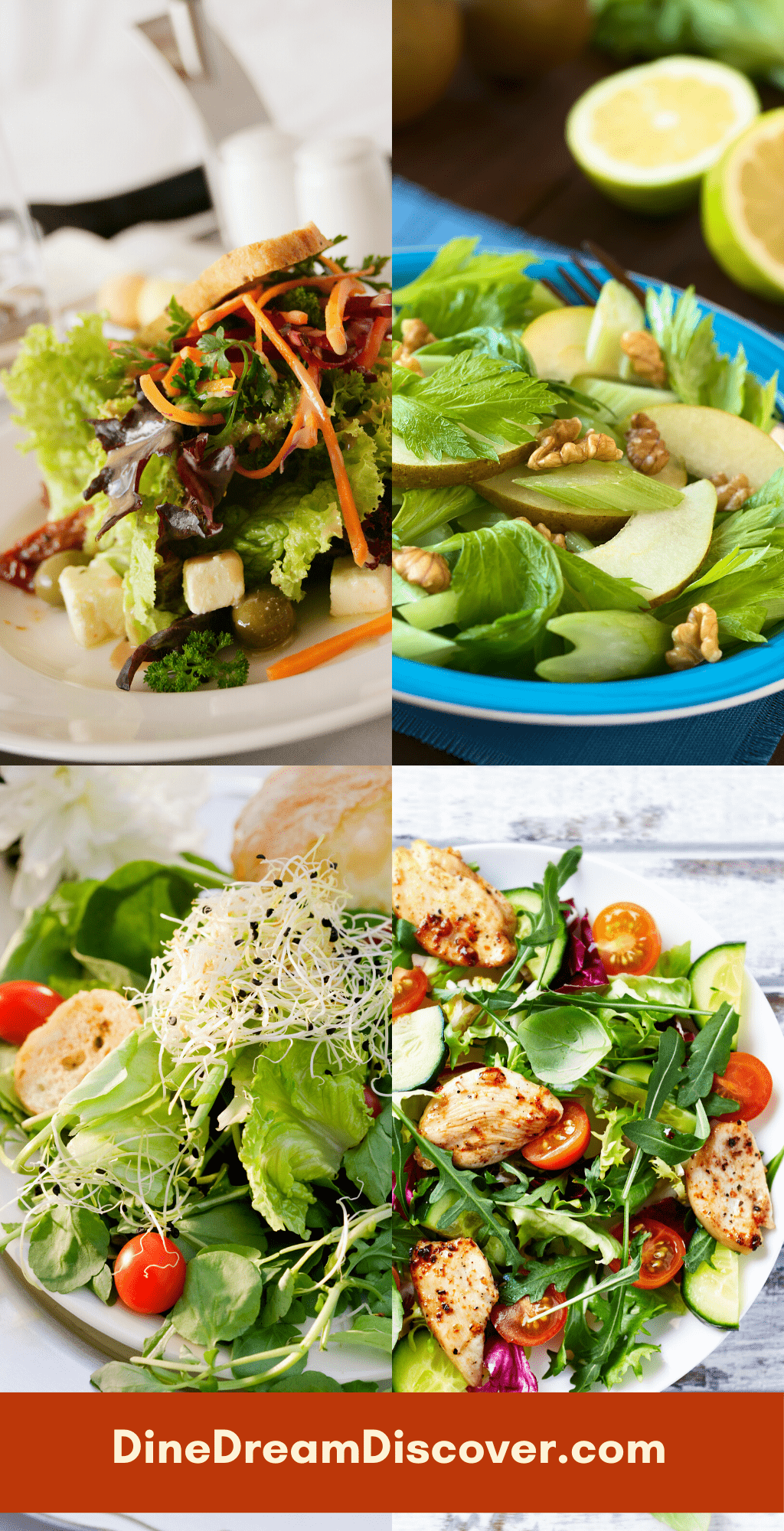 Simple and Healthy Salads