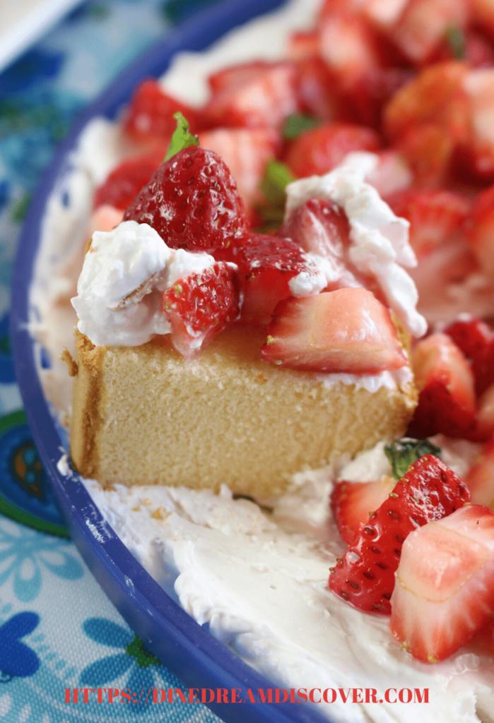 strawberry shortcake dip recipe