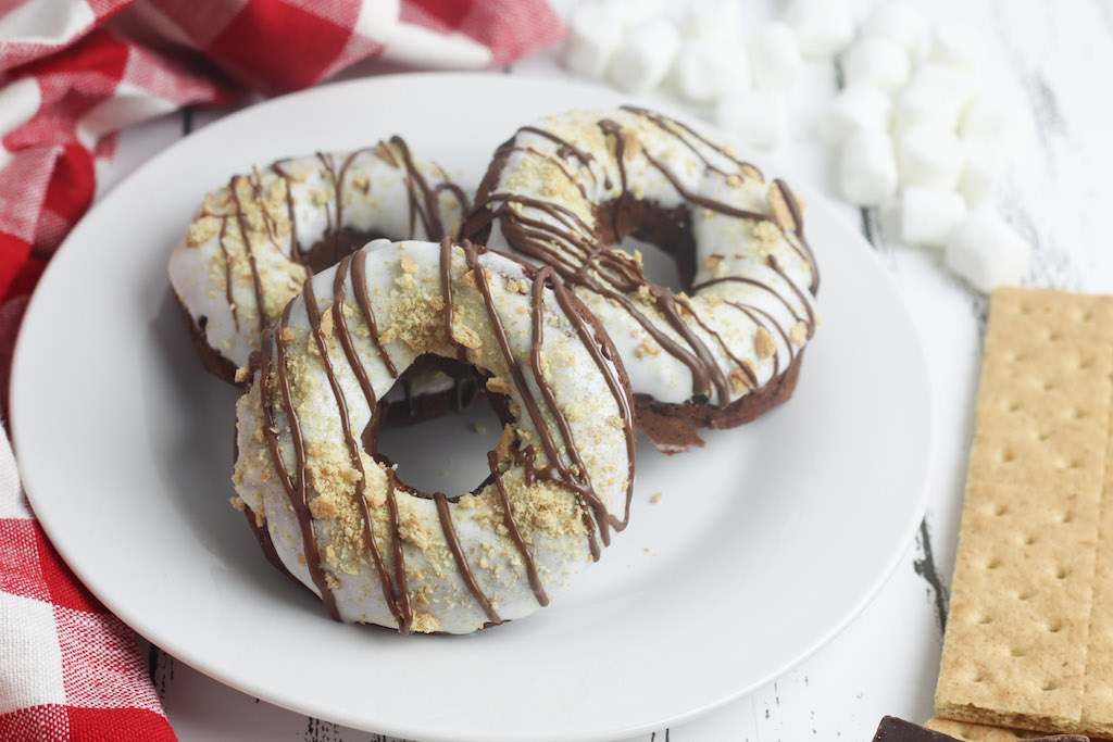 smores donut calories