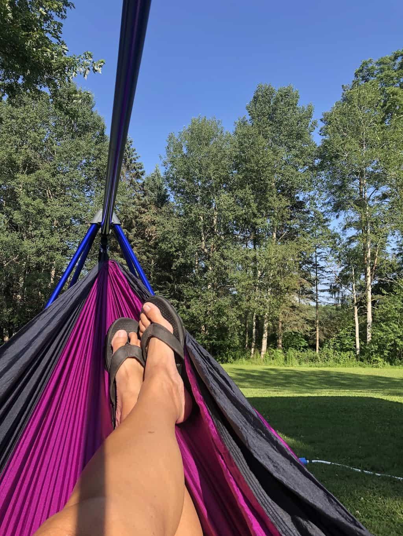 relax anywhere hammock