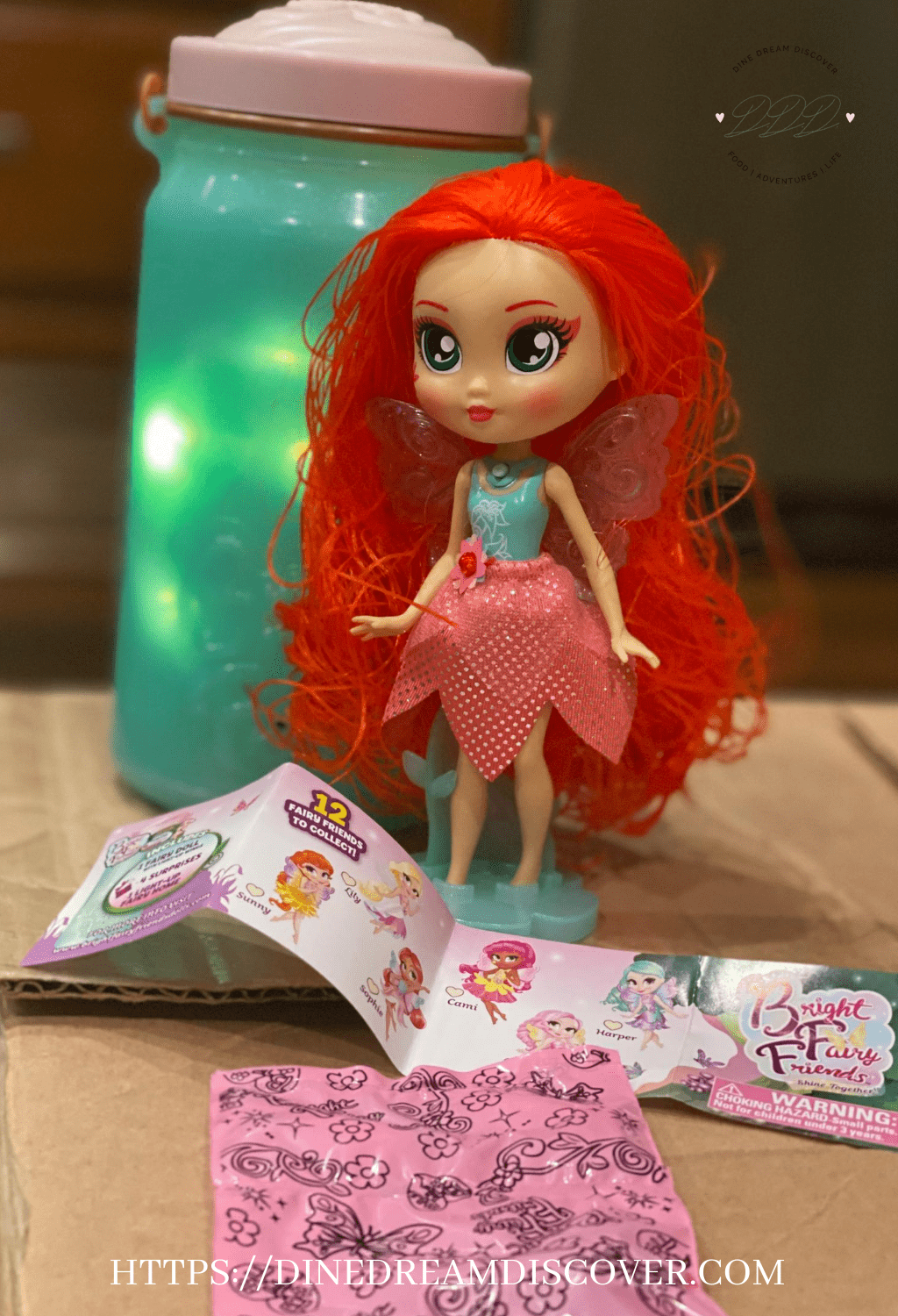 sophie bright fairy friends doll