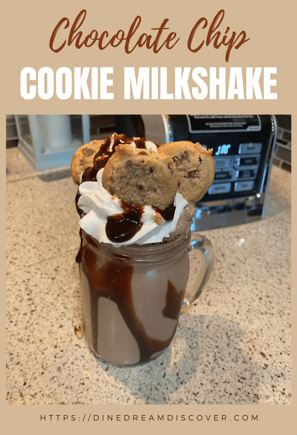 Chocolate Chip Cookie Milkshake