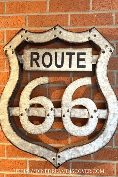 route 66 arizona map