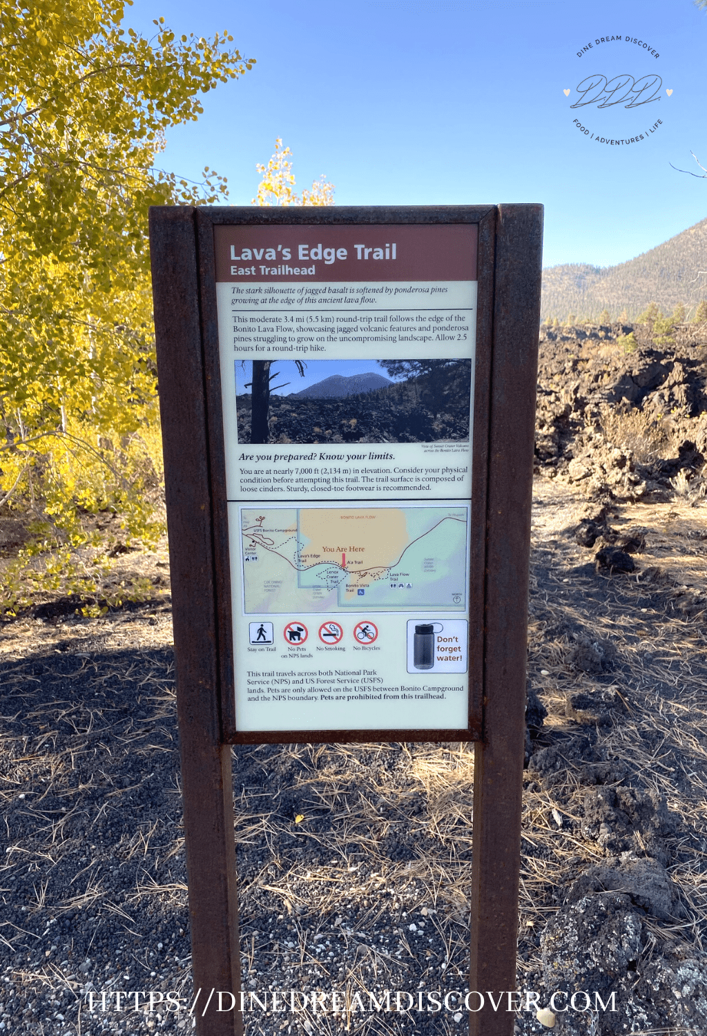 sunset crater national monument lava lake
