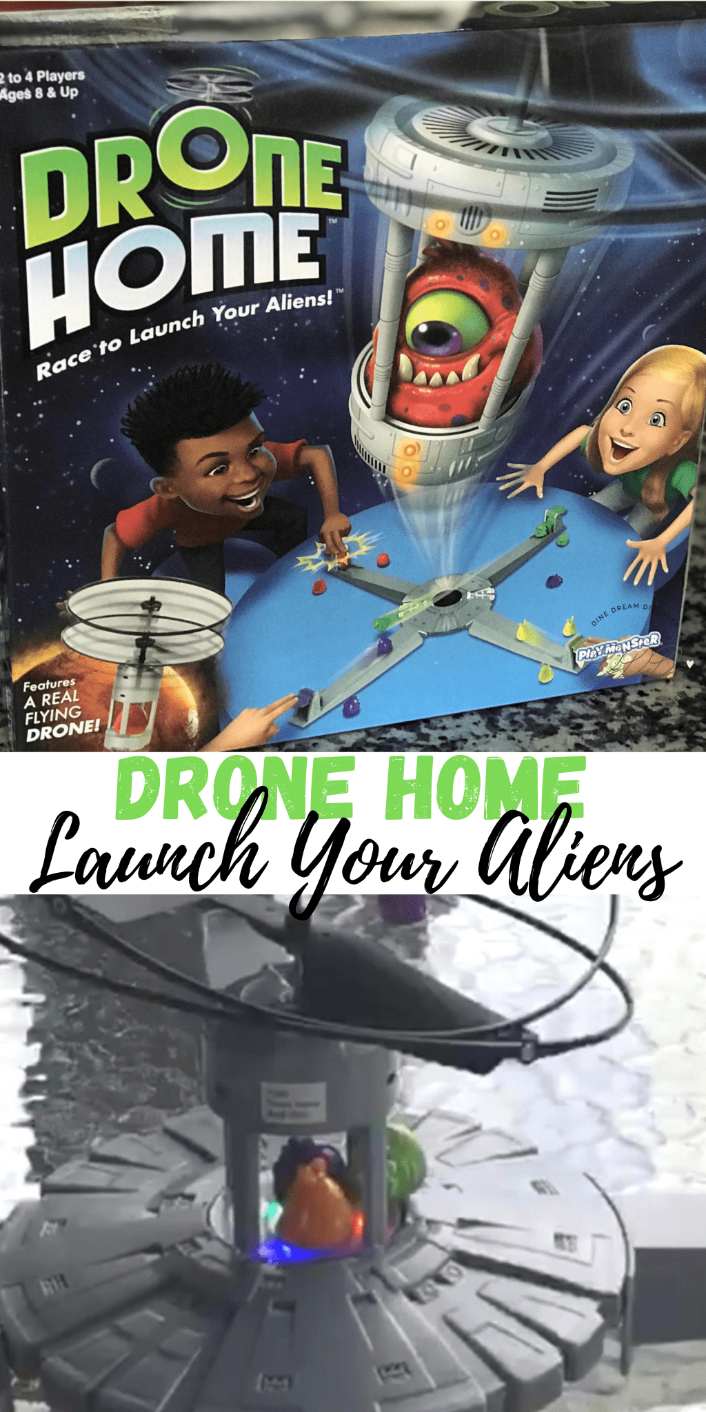 Launch Your Aliens in Drone Home