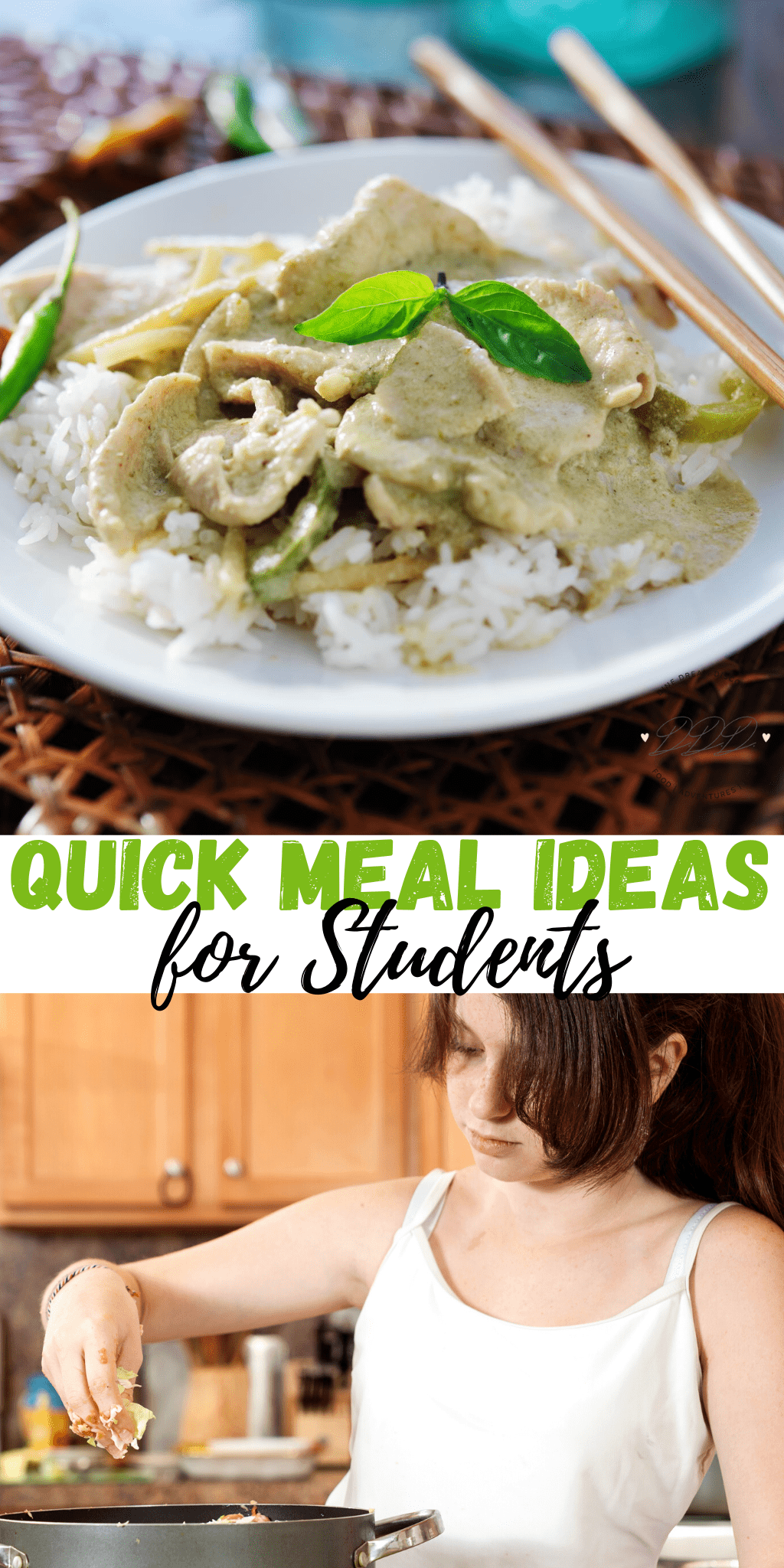 Simple & Quick Meal Ideas for Students