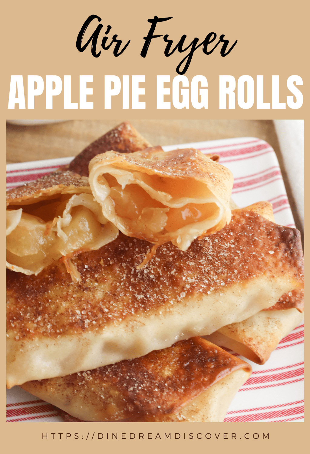 weight watchers apple pie egg rolls