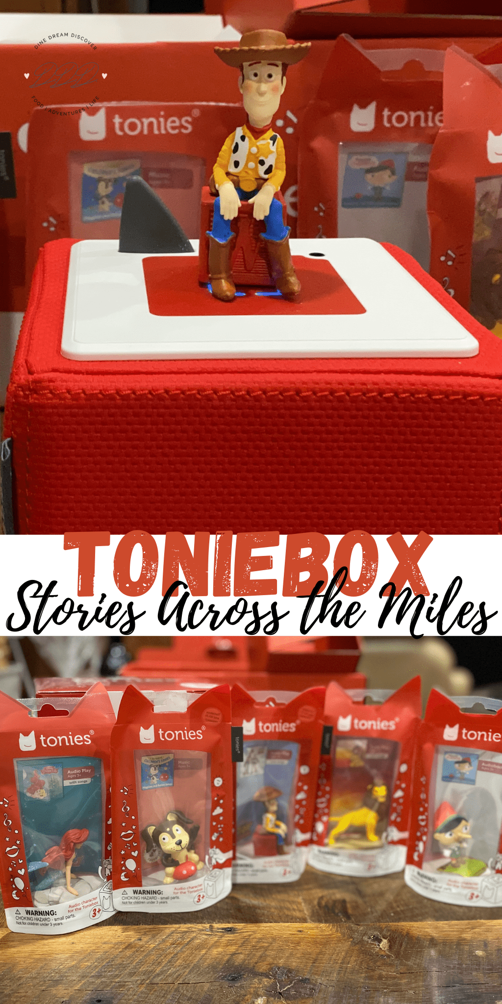 Bedtime Stories Across the Miles with Toniebox