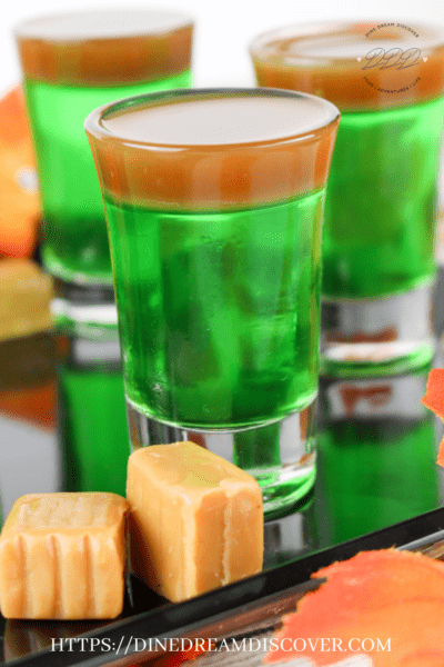 caramel apple jello shots