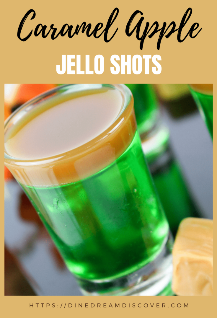 green apple jello shots