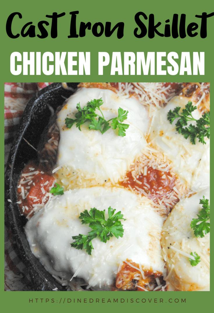 parmesan chicken skillet denny's