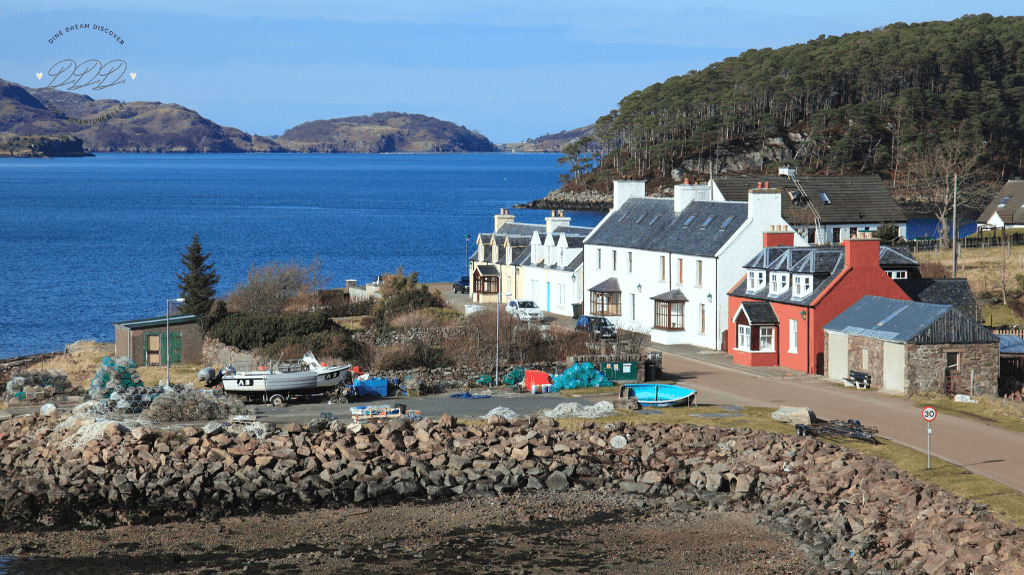 Shieldaig Lodge near Gairloch. North Coast 500