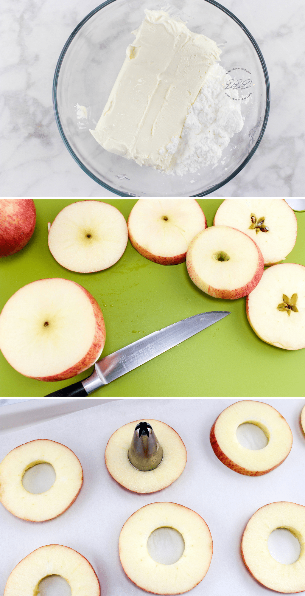 apple filled donuts
