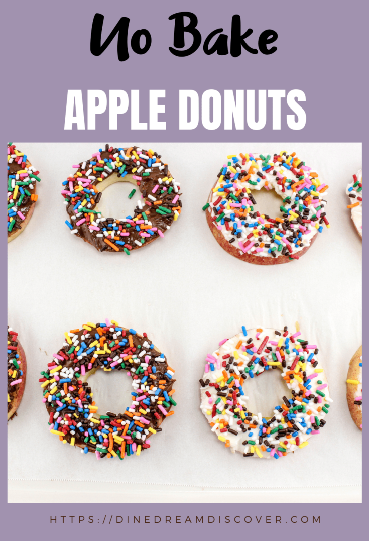 types of apple donuts