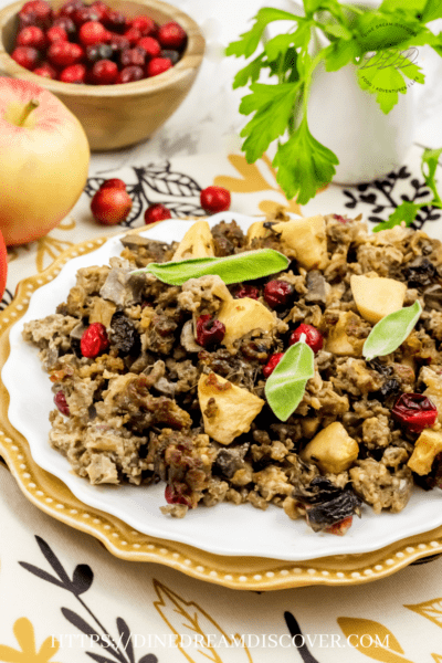 allrecipes awesome sausage apple and cranberry stuffing