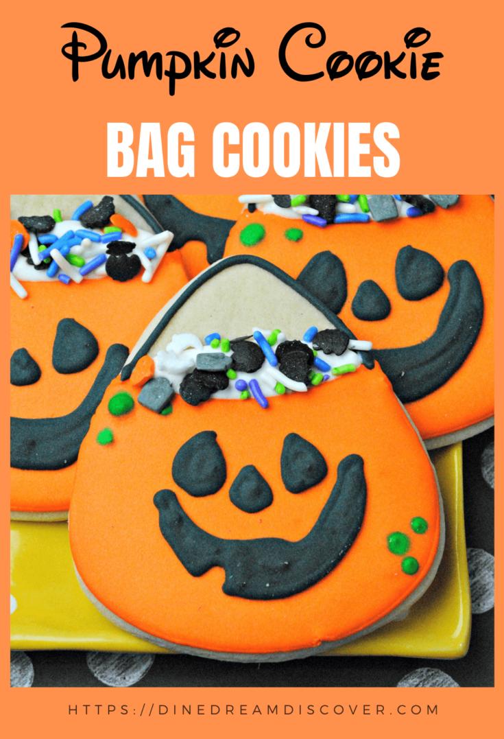 Pumpkin Bag Cookies