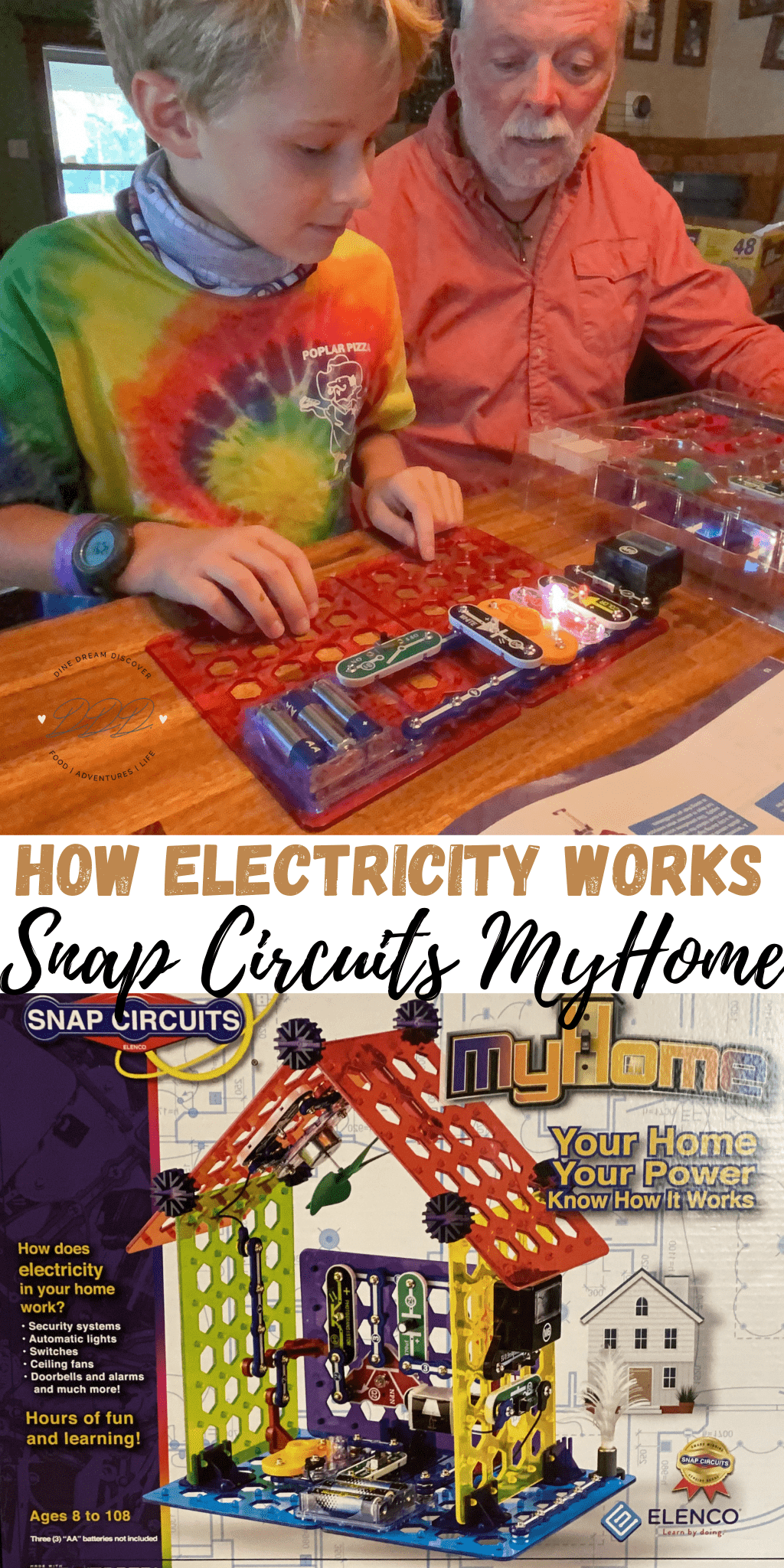 Snap Circuits MyHome How Electric Works