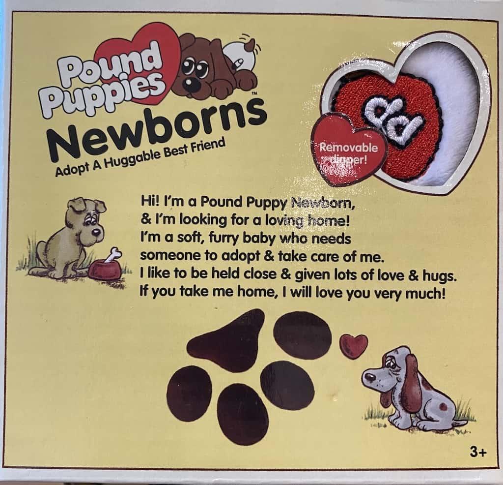 pound puppy poem