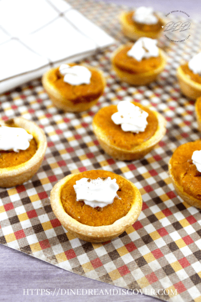 pumpkin pie bites recipe