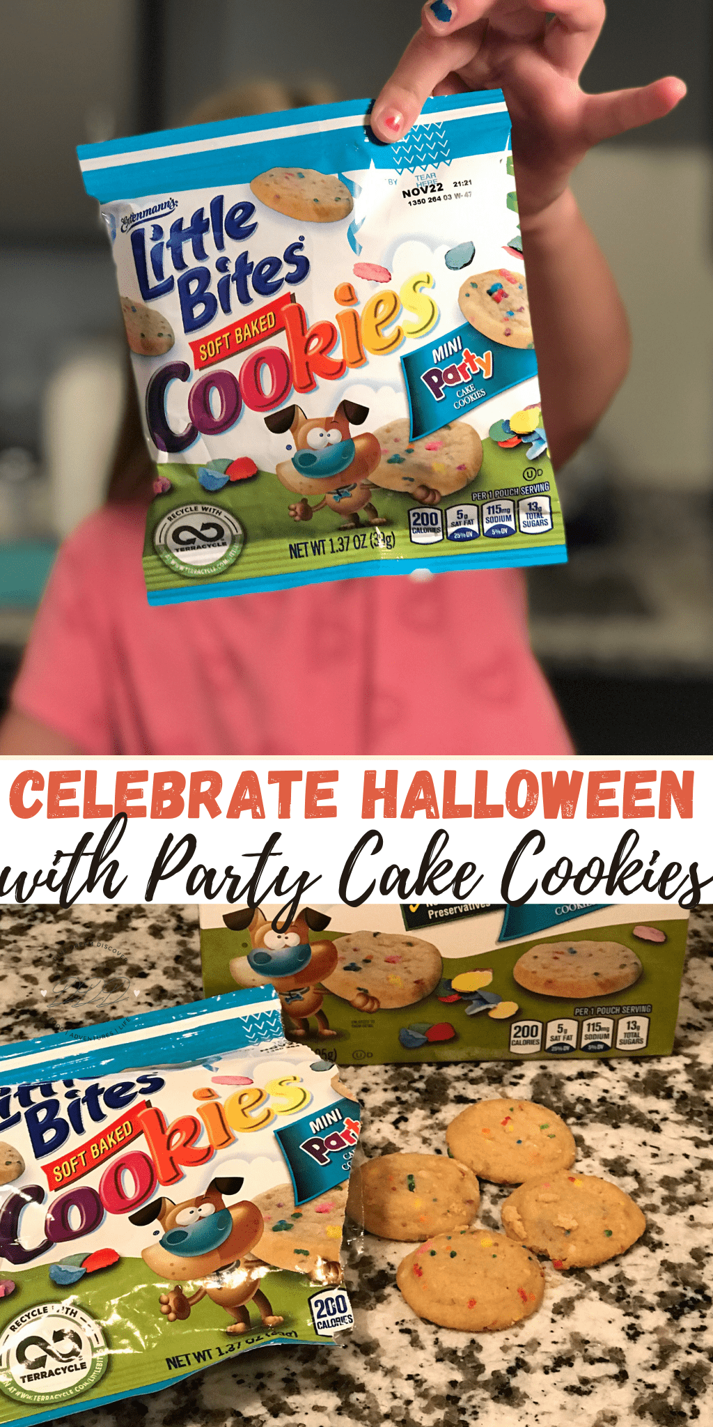 Celebrate Halloween with Soft Baked Party Cake Cookies and 2 Giveaways