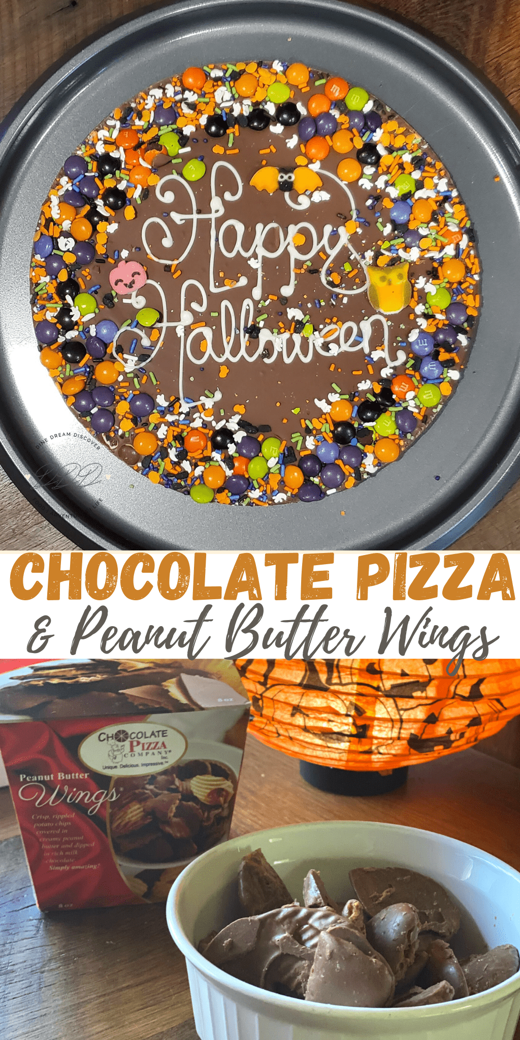 Celebrate Halloween with a Chocolate Pizza