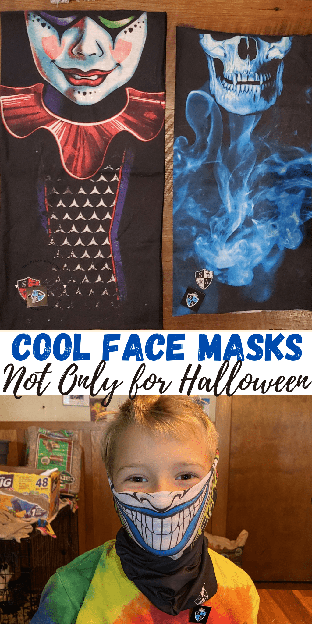 Cool Face Masks and Multi Use Shields