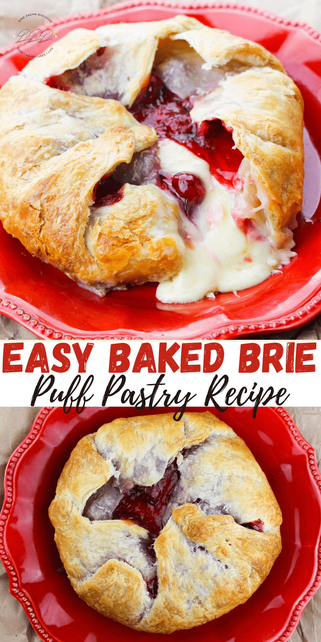 Easy Baked Brie Puff Pastry Recipe