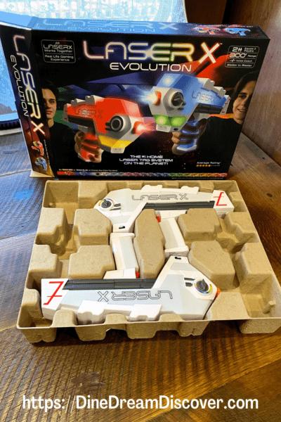 laser x Blaster-to-Blaster Laser Tag