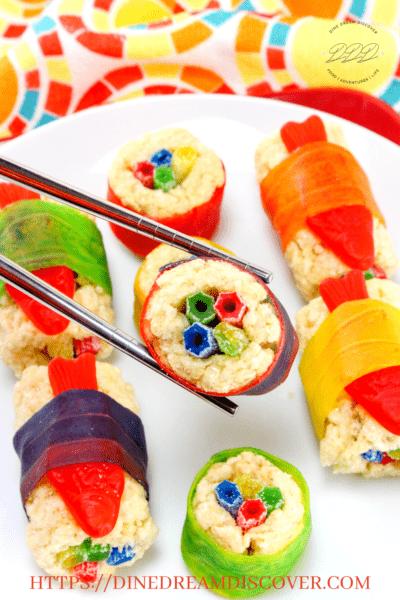mulan candy sushi