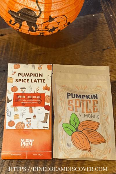 pumpkin latte candy bar
