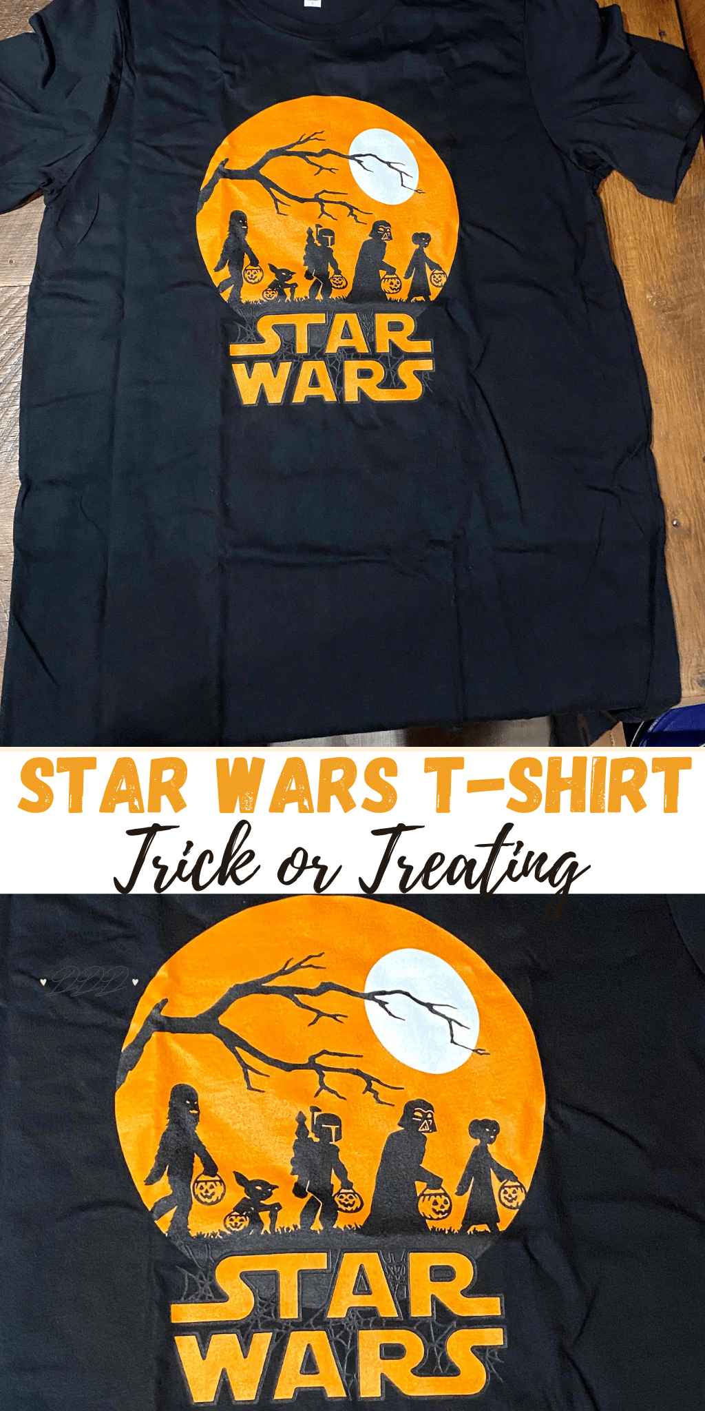 Star Wars T-shirt for Halloween