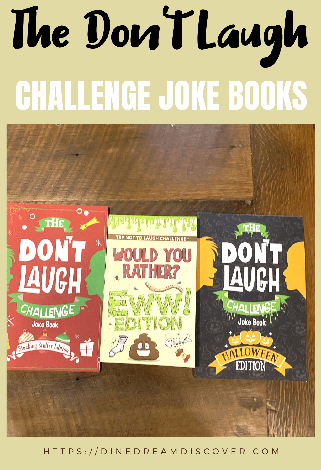 don't laugh challenge books