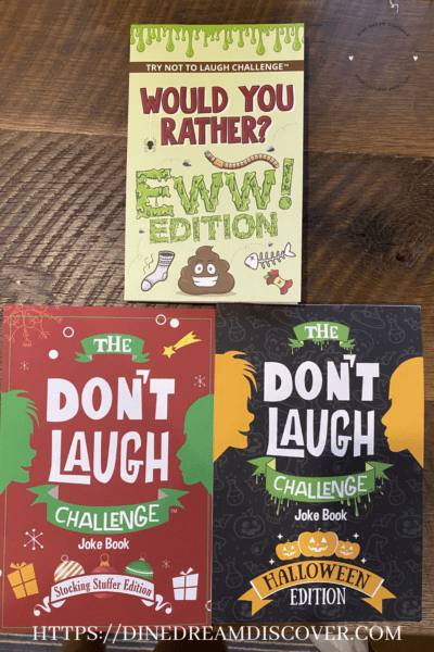 don't laugh books