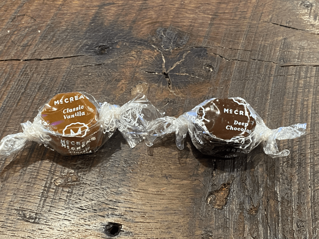 mccreas handcrafted caramels