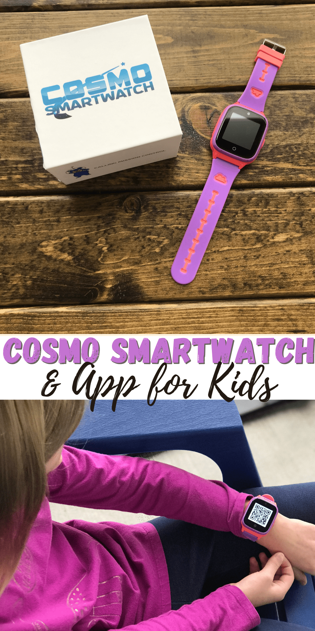 COSMO Smartwatch and App For Kids (and Parents)