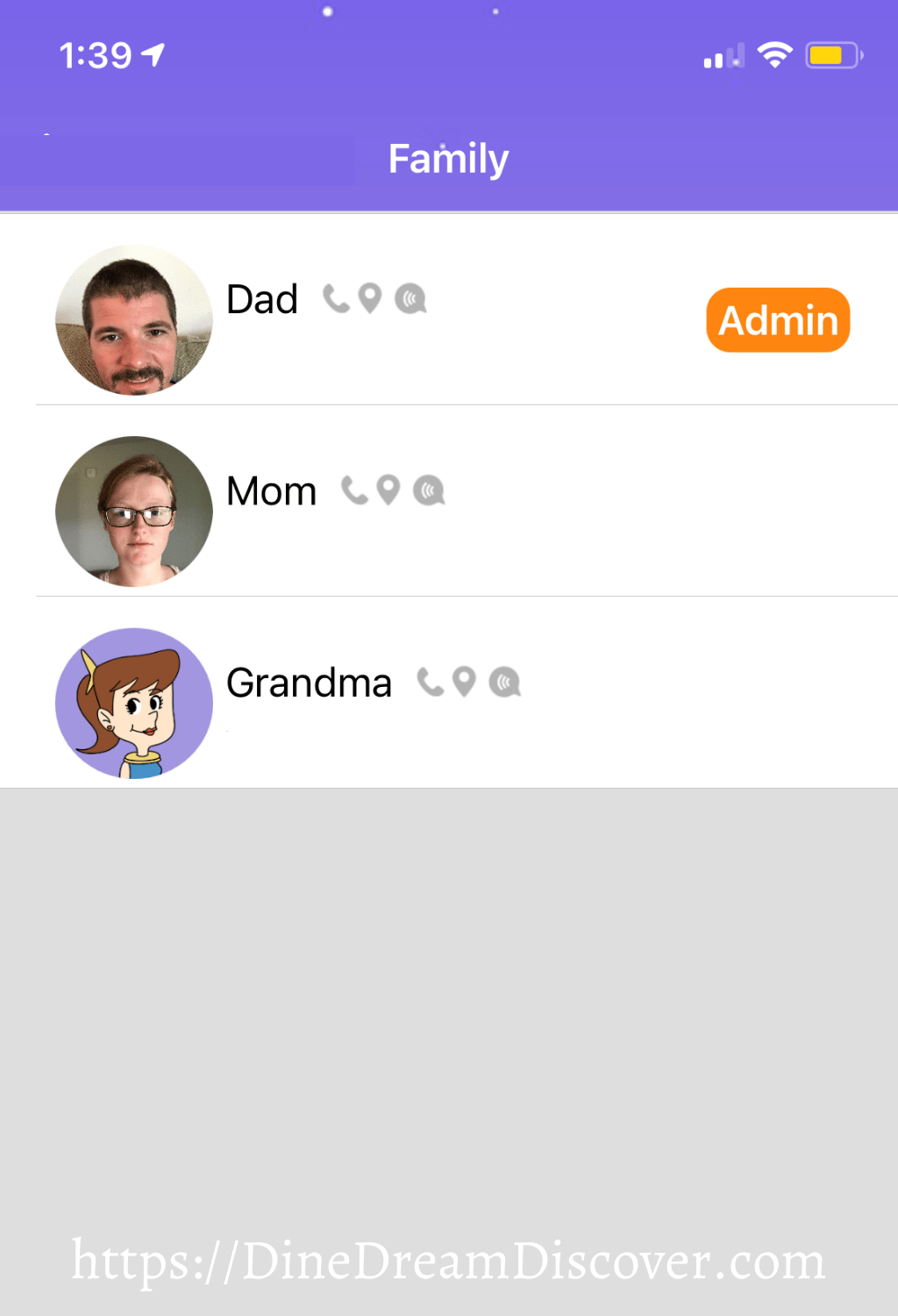 add family members to smartwatch