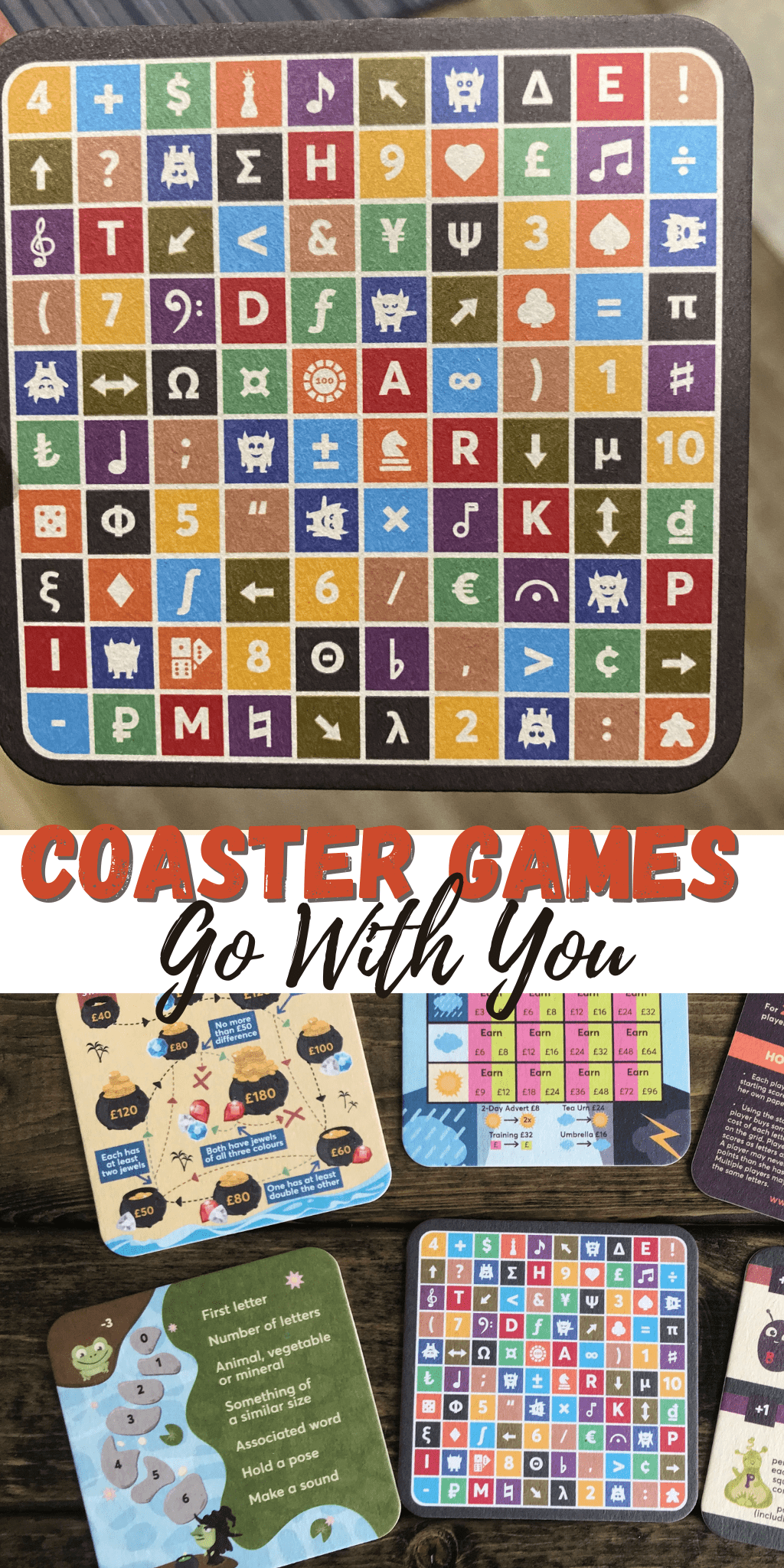 Coaster Games Go With You (