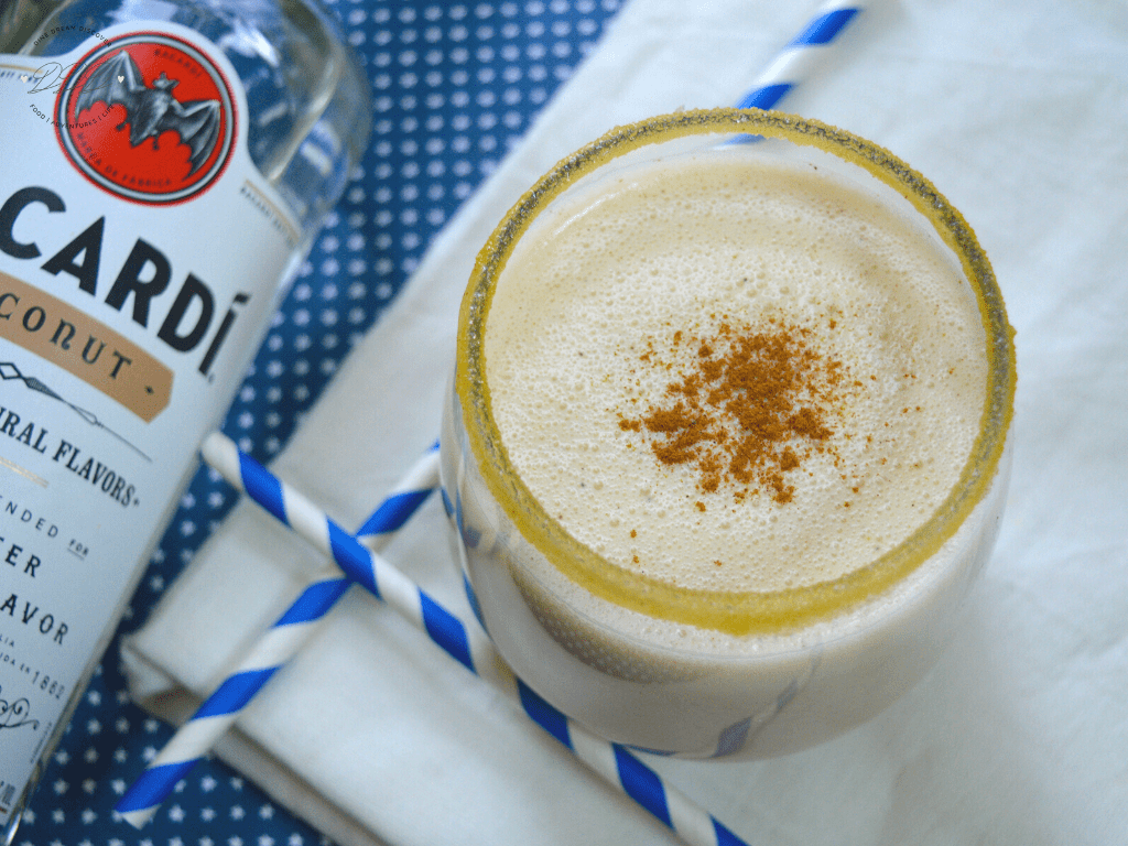 what alcohol is used in coquito