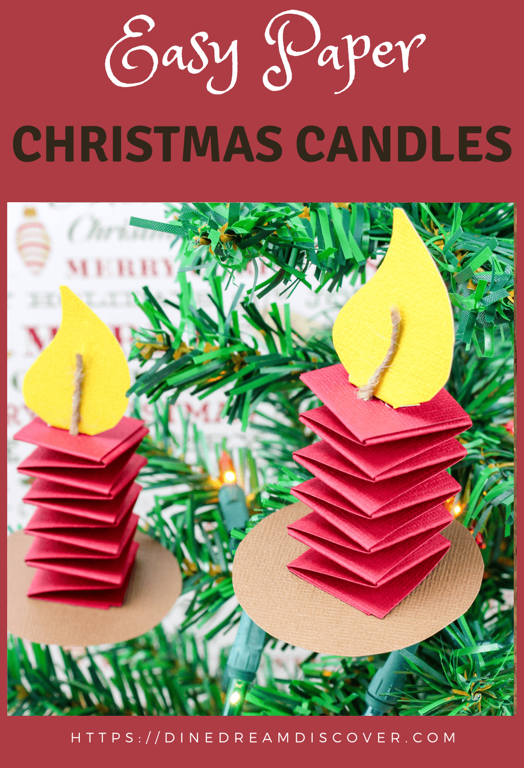 homemade christmas candle ideas