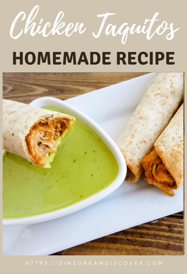 Fiesta Chicken Taquitos Recipe