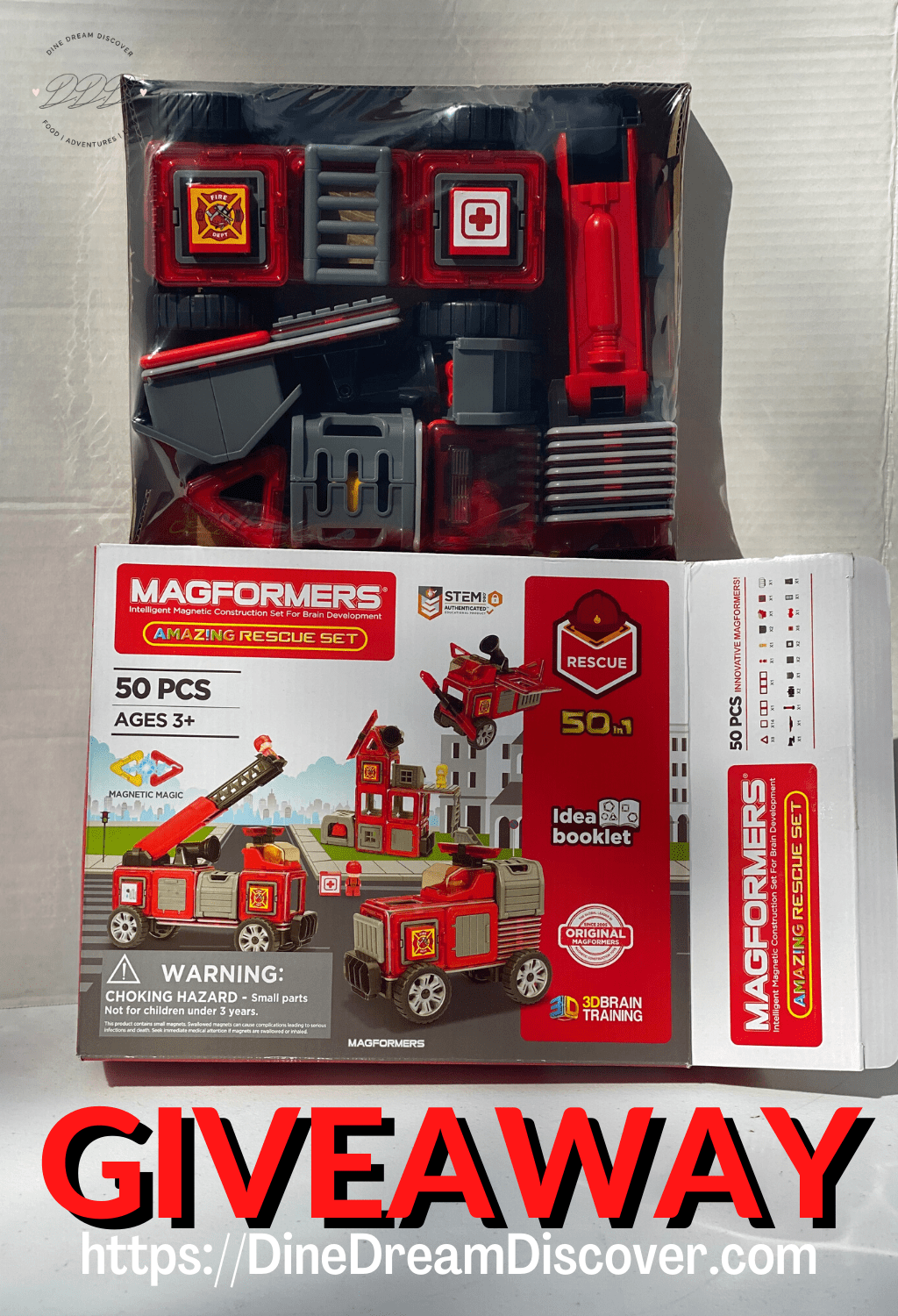 MAGFORMERS RESCUE SET
