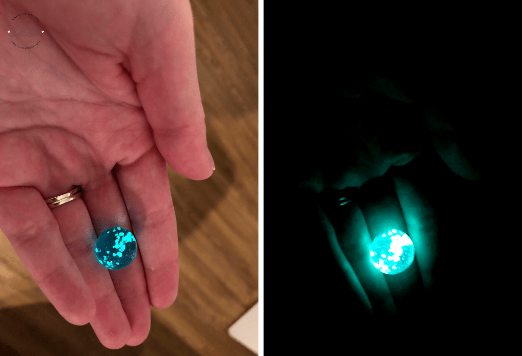 GLOW IN THE DARK MARBLES