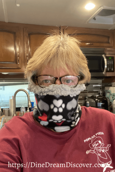 anti fog face mask