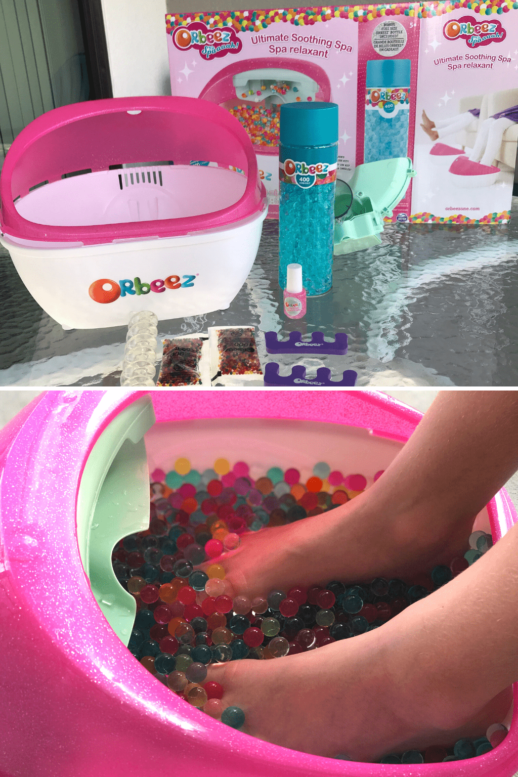 orbeez foot spa