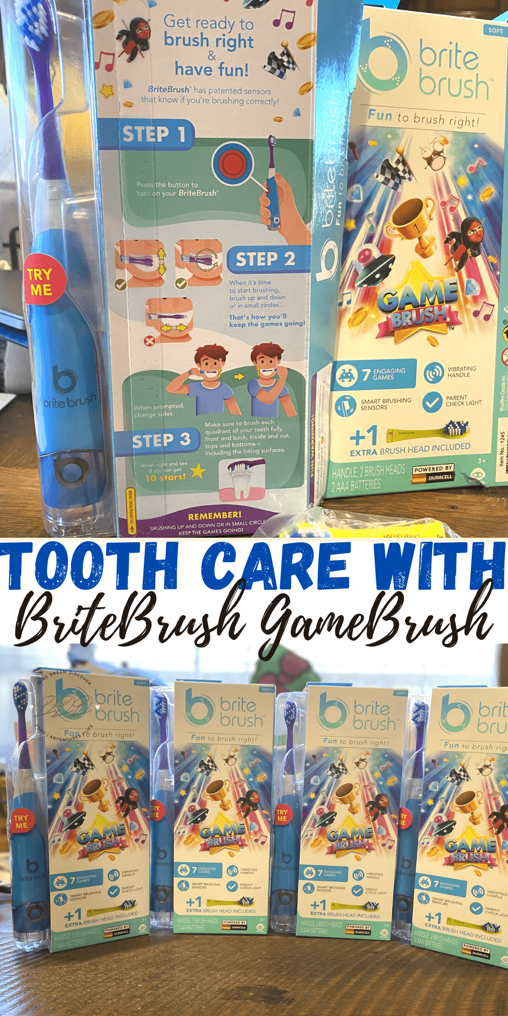 Tooth Care with BriteBrush
