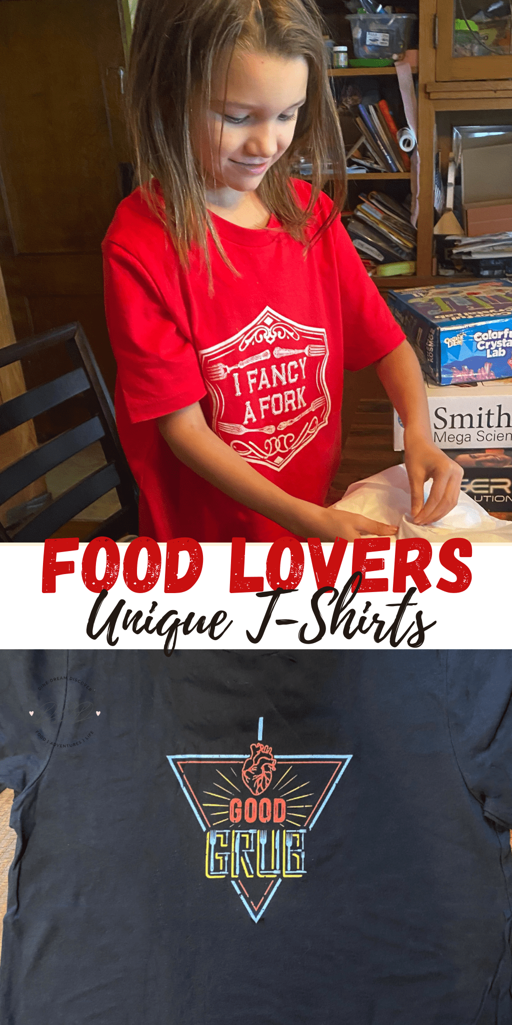Unique Graphic T-Shirts for Food Lovers