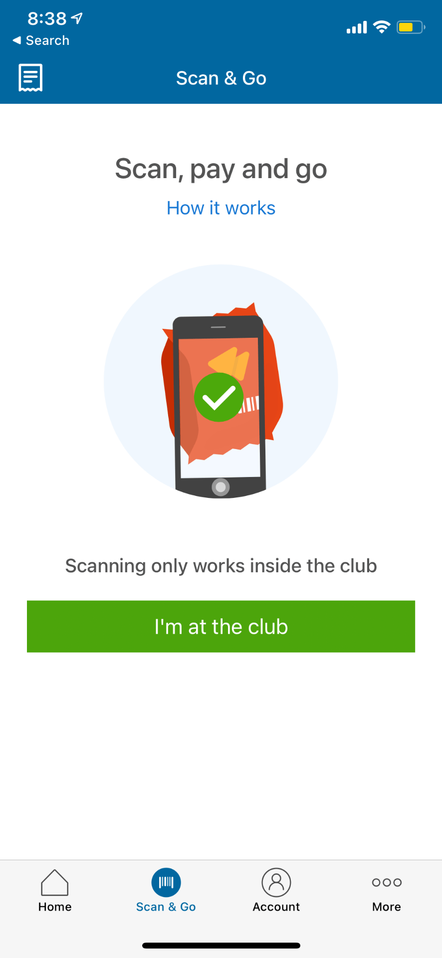 sams club scan & go